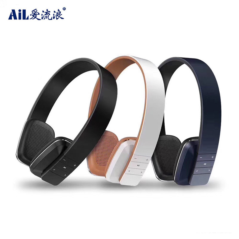 LC-8100 OEM Slim Style HiFi Stereo Wireless Bluetooth 5.0 Gaming Over Ear Headphone Headset